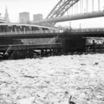 frozen river tyne