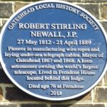 Robert Stirling Blue Plaque